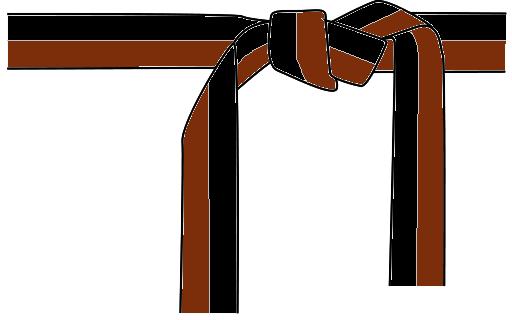 CinturaNeraMarrone