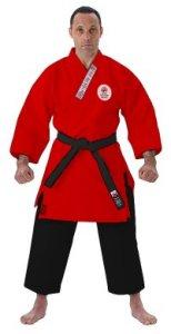 karategi rosso-nero